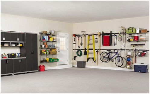 Utilizing your garage with simple ideas